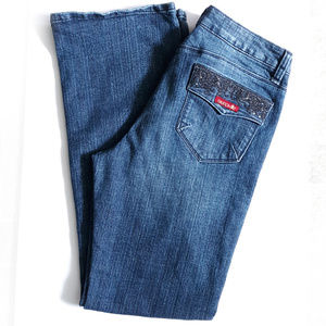 Sasson Jeans Boot Cut Boogie Women's Size 10